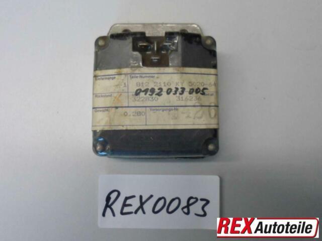 REX0083 * BOSCH GENERATORREGLER 28V, 0192033005