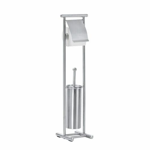 WENKO Stand WC-Garnitur Lioni Klobürstenhalter Rollenhalter unbenutzte B-Ware