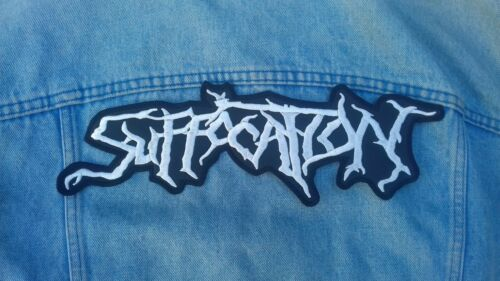 Dying Fetus Immolation Suffocation Nile embroidered logo back patch death metal