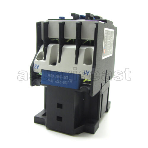 AC Contactor AC220V Coil 32A 3 Pole NO+1NC Auxiliary Contact LC1D3201 CJX2-D3201