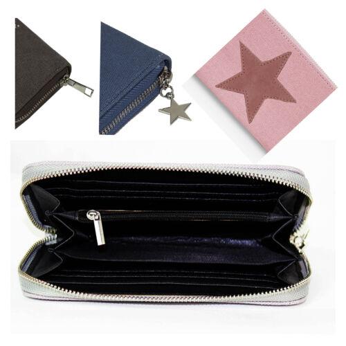 Portemonnaie  Brieftasche Geldbeutel Frau Glamexx24 Geldbörse mit Stern Muster