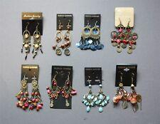 8 Pairs New Vintage Antique Style Boho Drop Chandelier Earrings Wholesale LOT