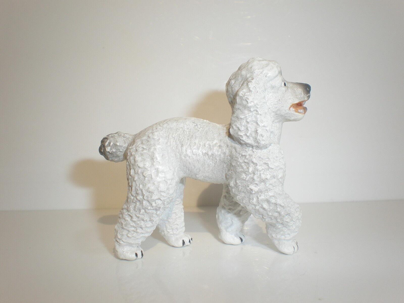 16305 schleich hund  weiße pudel - ref.  1b315