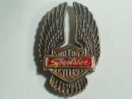 1 Pin Choice of Sportster Motorcycle Pin Badge Vintage