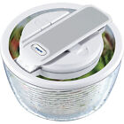 Zyliss Smart Touch Salad Spinner White E15620 Vegetable Water Drainer Dryer
