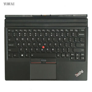New/Orig Lenovo ThinkPad X1 Tablet Thin Keyboard US Backlit 01AW600 TP000820K1