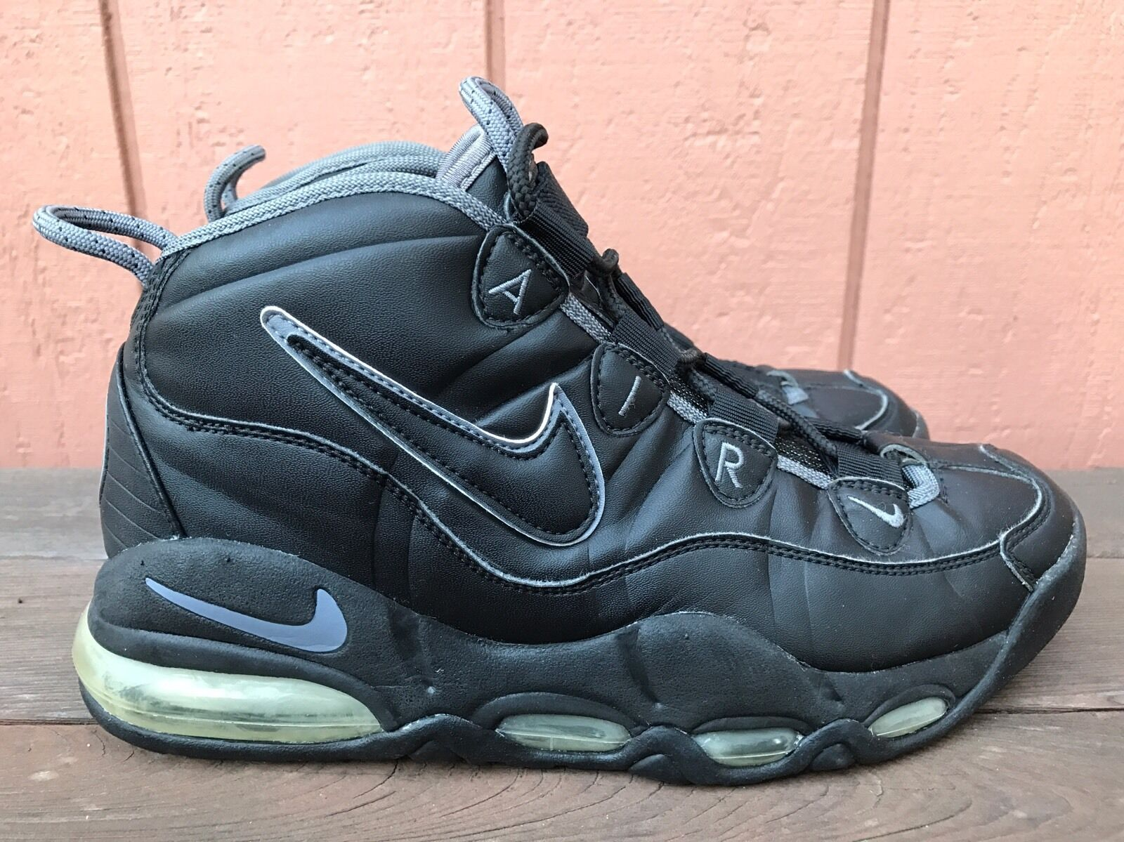 EUC RARE Nike Air Max Tempo US 8 Black Sneakers 624011 001