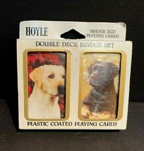 Vintage Hoyle Bridge Set Siamese CatsKittens Unopened Original Gift Package