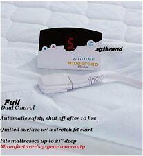 Biddeford Blankets Heated 50 Cotton Mattress Pad With Digital