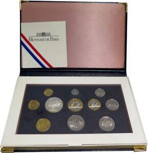 0455 - Coffret Be - Francs - 2001 - 1 Centime à 100 Francs
