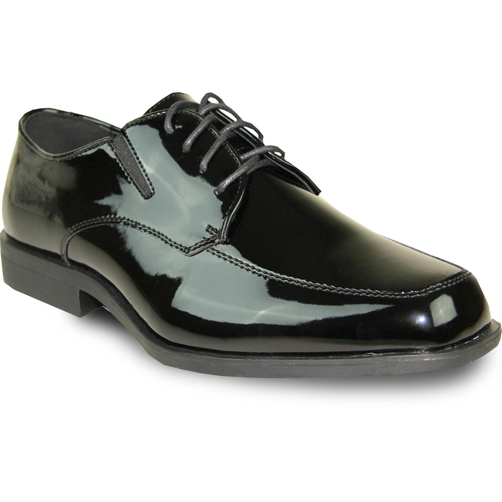 Vangelo Nuevo Hombre Zapato de vestido tux-7 Moe Smoking Para Evento Formal Moe tux-7 Toe Wrinkle Free bdbd9e