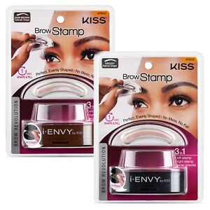 Image Is Loading I ENVY BY KISS BROW STAMP POWDER DELICATE