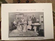 75-3 ephemera ww1 1916 picture germany wool shortage newspaper blankets