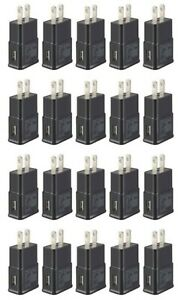 20x-2A-Black-USB-Wall-Charger-Plug-AC-Home-Power-Adapter-For-Samsung-Android-LG