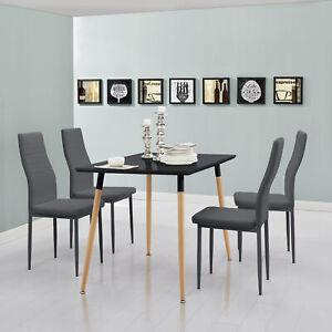 en-casa-Esstisch-mit-4-Stuehlen-schwarz-120x70cm-Kuechentisch-Esszimmertisch