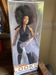Mattel Barbie Signature Looks Doll, African American Curvy NIB