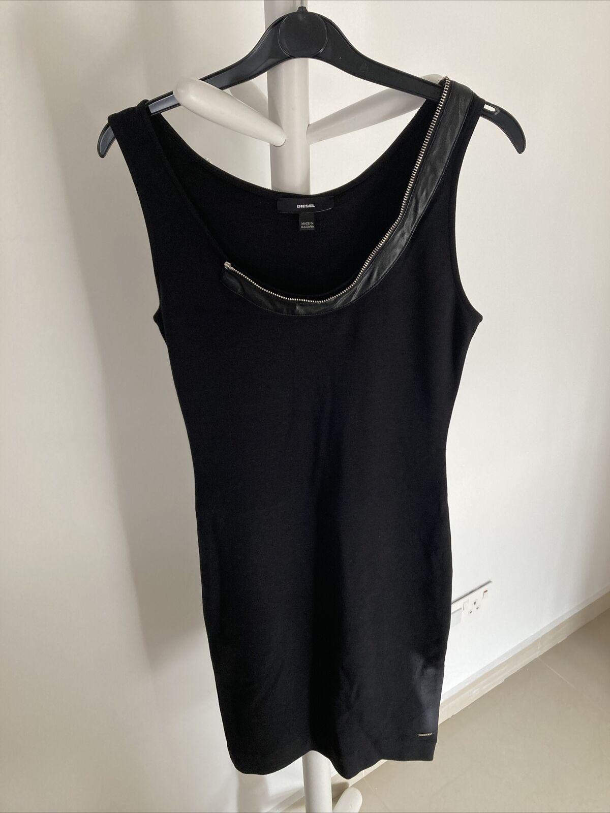NEU Diesel Kleid Party Schwarz S