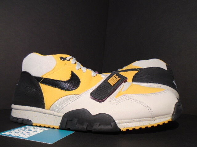 2007 Nike Air TRAINER 1 TECH PACK GRANITE GREY BLACK GOLD LEAF PINK YELLOW DS 11