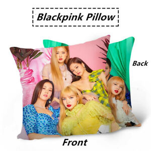 Kpop-BLACKPINK-Magazine-Style-Double-Photo-Sided-Pillow-Lisa-Jennie-Sofa-Cushion