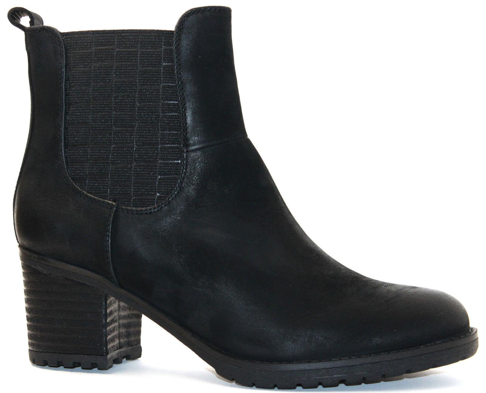 SPM chaussures bottesette PIAGET Chelsea Ankle démarrage 17905884 noir Leder