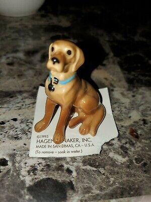 Hagen Renaker Miniature Yellow Labrador Retriever