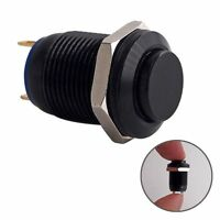 Momentary Push Button Switch Ur125 1no Spst Dc Ac 36v 2a 12mm 1/2 Mounting Hole