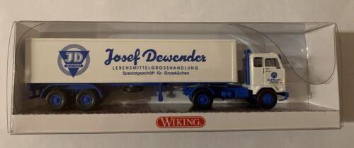 "/""Josef Dewender/"" 1:87 #NEU en OVP # WIKING 052852 Volvo F88 semirremolque"