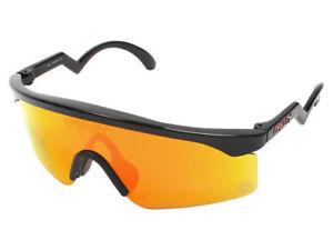 Oakley-Razor-Blades-Heritage-Sunglasses-OO9140-12-Black-Fire-Iridium