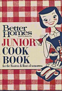 Retro-1950-039-s-Junior-Cook-Book-DIGITAL-Counted-Cross-Stitch-Pattern-Chart