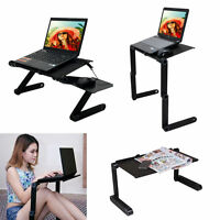 360° Adjustable Laptop Table Stand Lap Sofa Bed Tray Computer Notebook Desk on sale