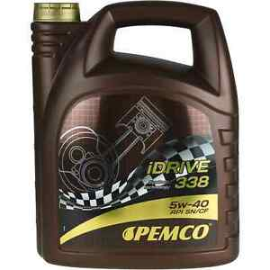 5l-Pemco-iDrive-338-5w-40-aceite-del-motor-aceite-VW-502-00-505-00-MB-229-1-acea-a3-b4