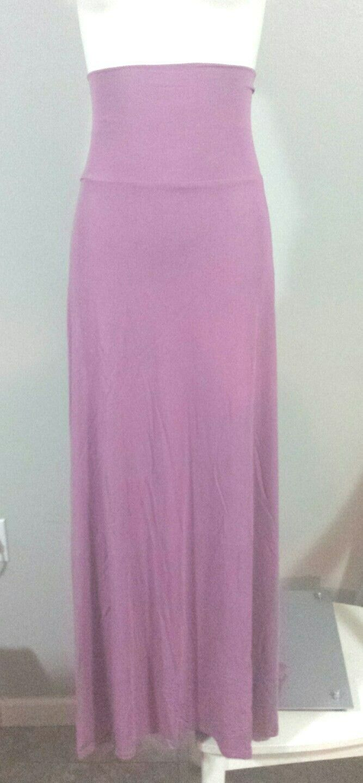 Brand New With Tags  2XL XXL    LuLaRoe Maxi Skirt  Purple   Periwinkle