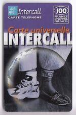 FRANCE TELECARTE / PHONECARD PREPAYEE .. 100F INTERCALL   SHOES V°1 12/02+N°