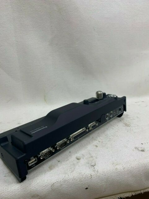 Docking Station Model CF-VEB272A  Panasonic Toughbook Port Replicator w// Key