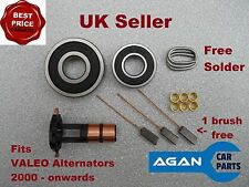 ARK106 NEW REPAIR KIT FOR VALEO ALTERNATOR Slip rings Brushes Brush Set 2000 on