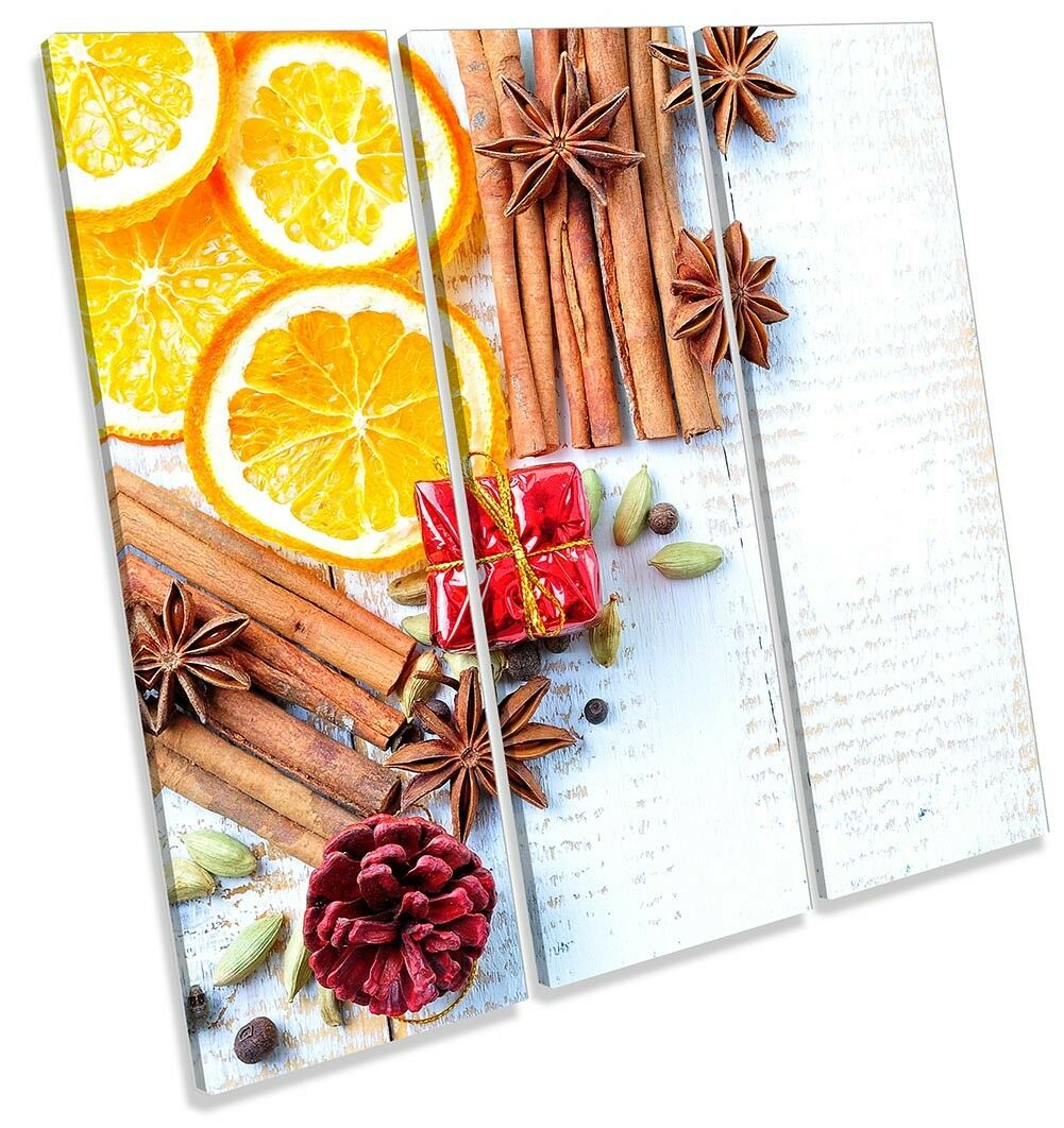 Mulled Wine Spices Herbs Picture Picture Picture TREBLE CANVAS WALL ART Print 0f536b