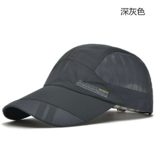 Summer Outdoor Visor Quick-drying Cap Sports Baseball Caps Mesh Breathable Hats