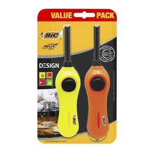 Bic Mega Lighters 2 pack
