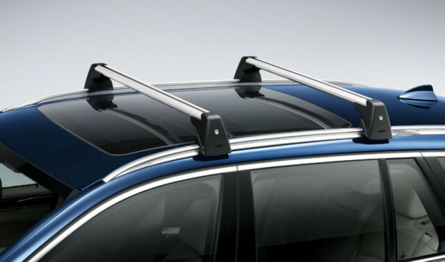 Genuine Bmw F25 Aluminium Roof Bars For X3 With Keys 82712338614 For Sale Online Ebay