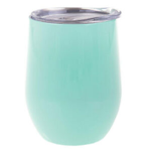 Oasis 300ml Stainless Steel Double Wall Insulated Wine Drink Tumbler Spearmint