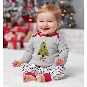 Image is loading Mud-Pie-My-First-Christmas-Tree-Two-Piece- 957ee769e