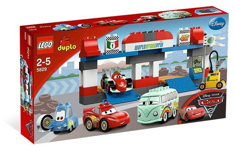 LEGO® DUPLO CARS 5829 Großer Boxenstopp NEU OVP _PIT STOP NEW MISB NRFB to 5816