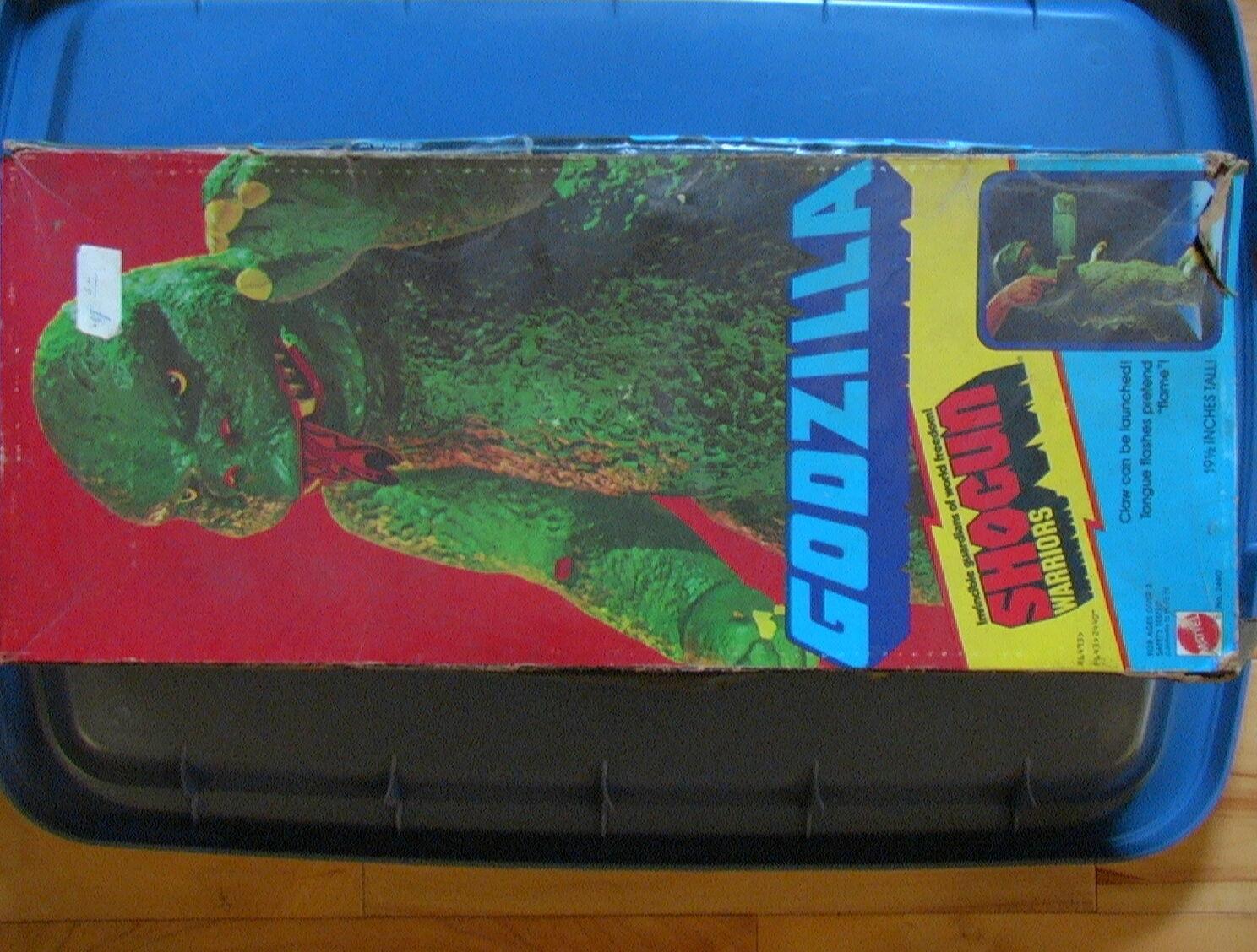 Shogun Warriors Vintage 1977 Godzilla 20  100% con V. Con Caja INS C-5 Mattel Bandai