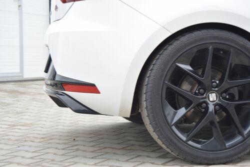 Cup heckstoßstangen approche pour SEAT LEON III 3 FR Heckschürze Diffuseur arrière ABS