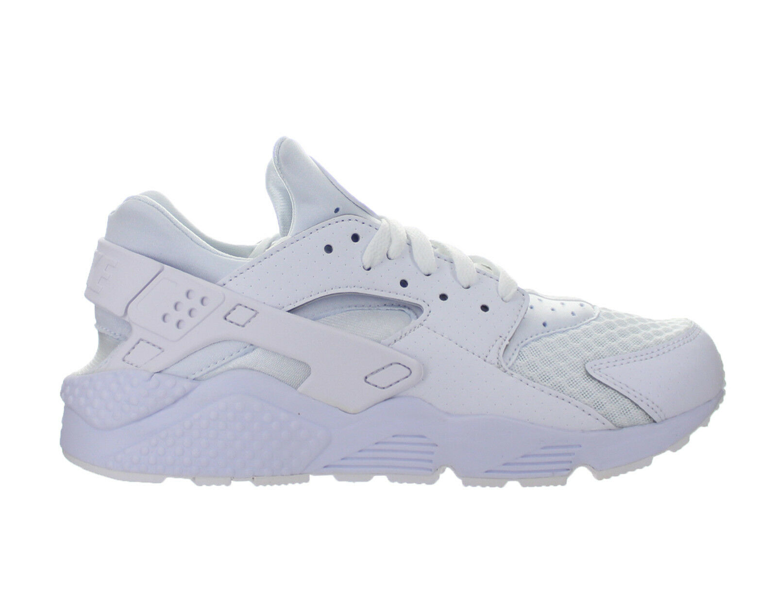 Para Hombre Nike Platinum Huarache Blanco Puro Platinum Nike 318429111 Air 586fc9