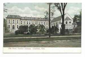 Kent-County-CHATHAM-ONTARIO-The-Pines-Ursuline-Academy-Circa-1909