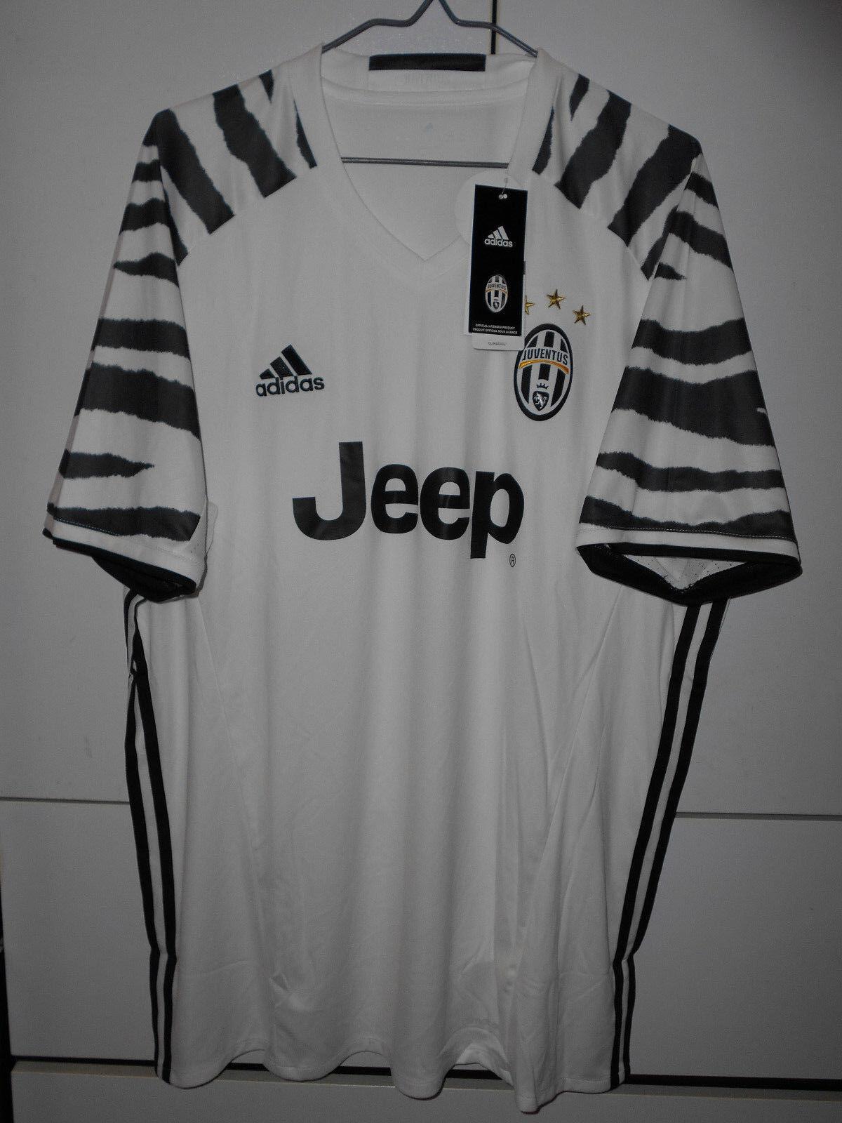 Adidas Auténtico Fútbol Juventus 2016-17 ventiladores Lejos Jersey M L XL