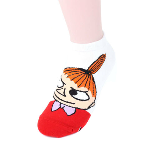 Moomin Women/'s Socks 5 pairs Made in Korea Stand out