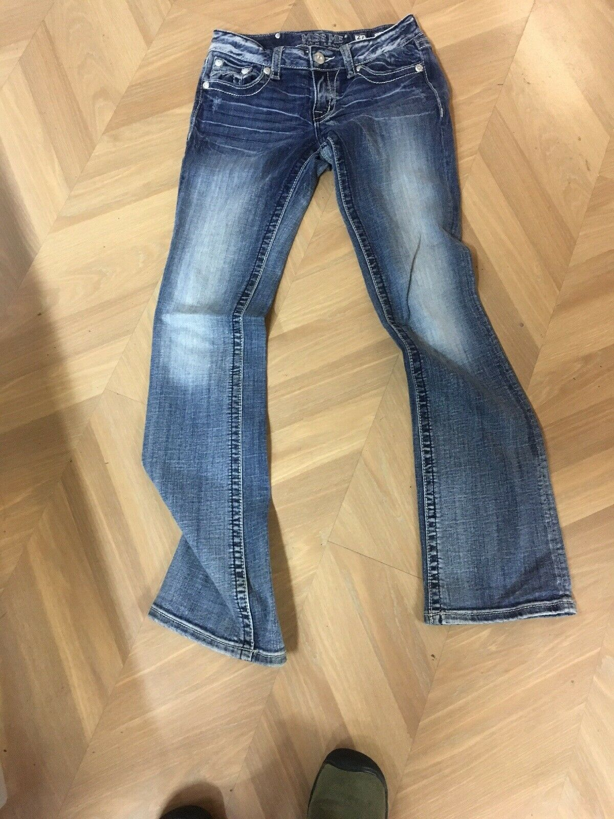 Miss Me Denim Brand jeans 27 JD1039B Boot jeans