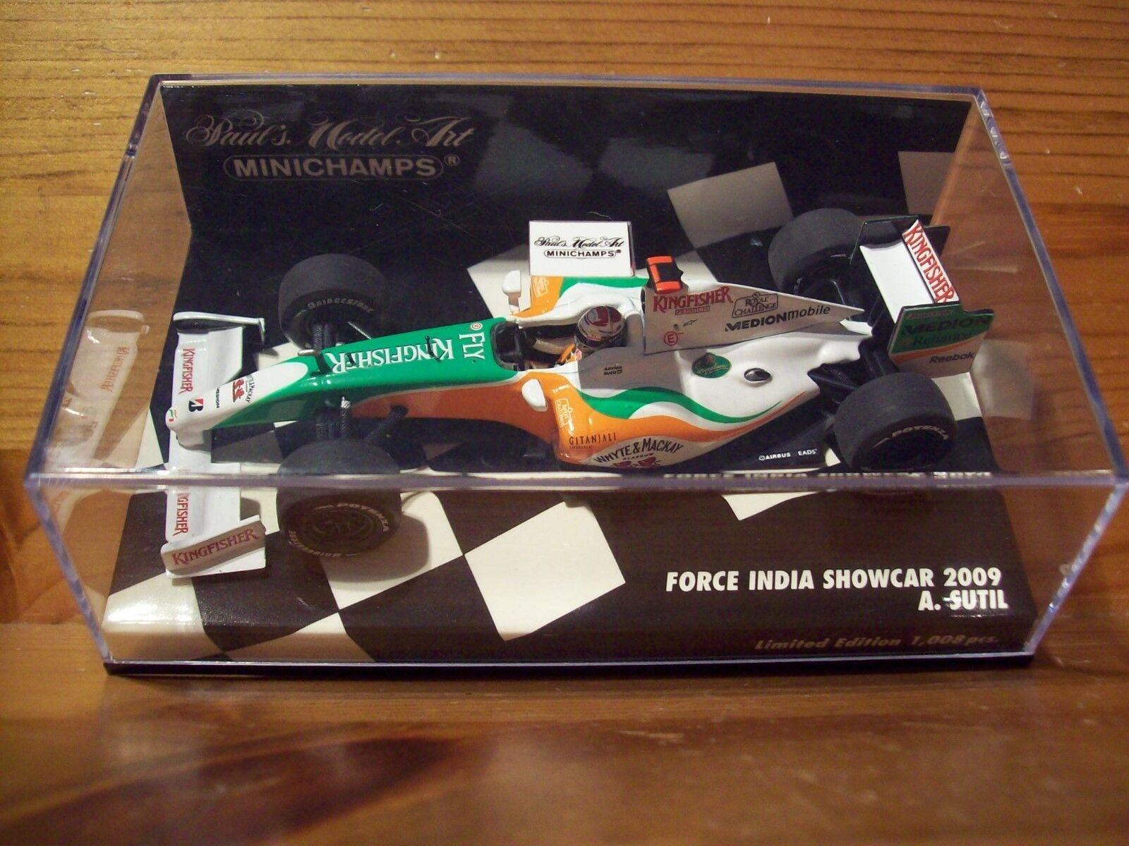 1 43 Force India 2009 CAR Adrian Sutil